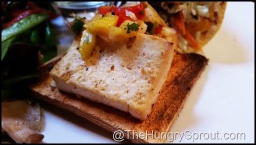 Cedar Roasted Tofu