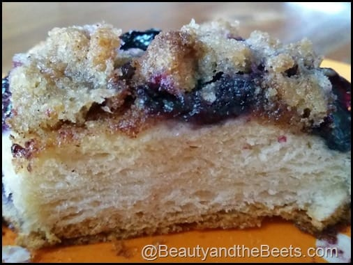 Blueberry Skillet Cake Layers