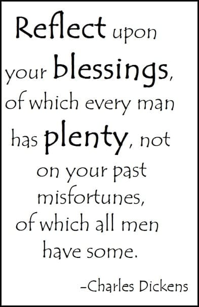 Reflect blessings
