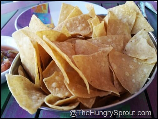 Tortilla Chips Rosa Mexicano Miami The Hungry Sprout