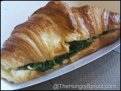 Spinach Feta Croissant Benjamin French akery