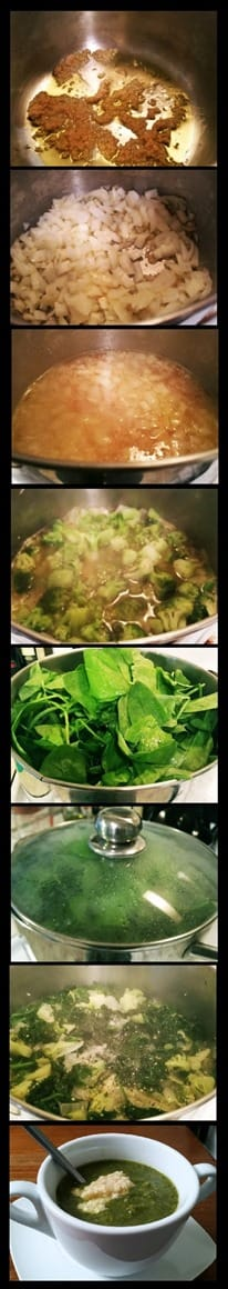 Broccoli Spinach Kale Soup Recipe Beauty and the Beets