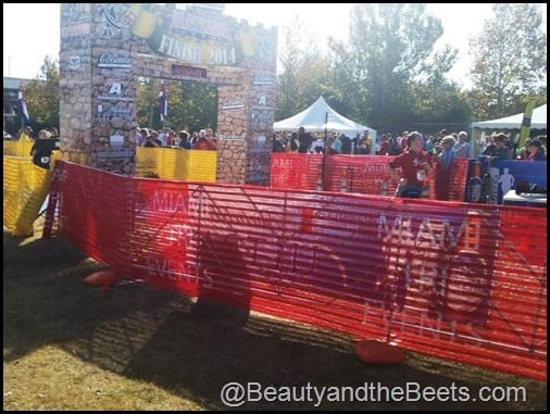 St Augustine Half Marathon Finish Line Beauty and the Beets