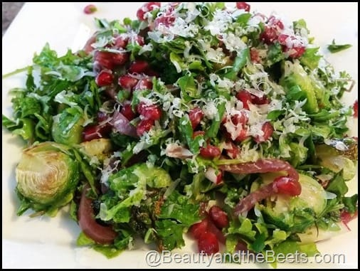 Colorful Christmas Salad Beauty and the Beets