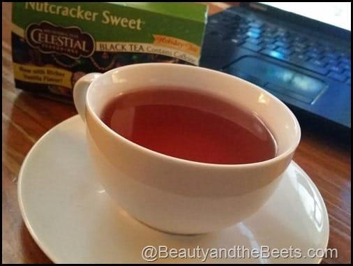Nutcracker Sweet tea Beauty and the Beets
