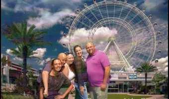 Taking Flight on The Orlando Eye