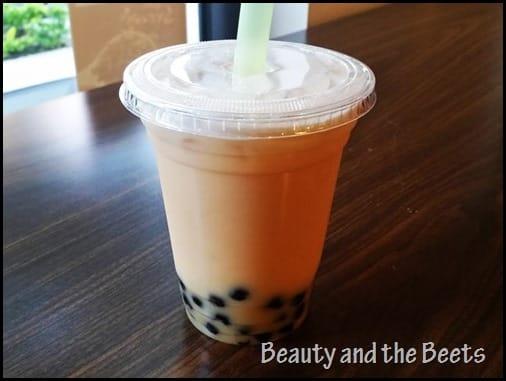 Pecan Pie cream Tea and Tea Beauty and the Beets