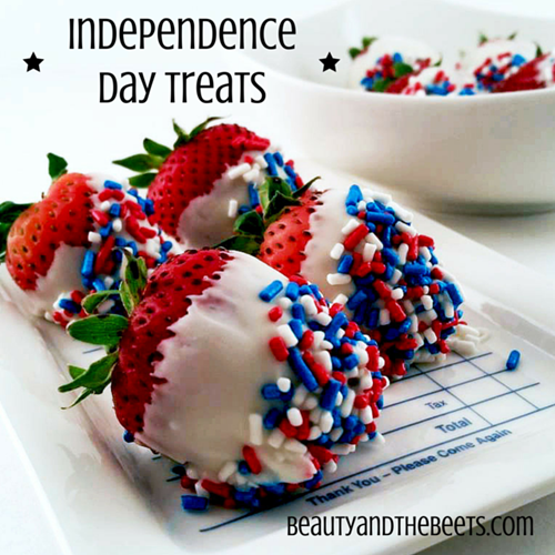 Independence Day Treats Beauty and the Beets