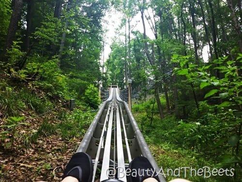 Gatlinburg Mountain Coaster go Beauty and the Beets