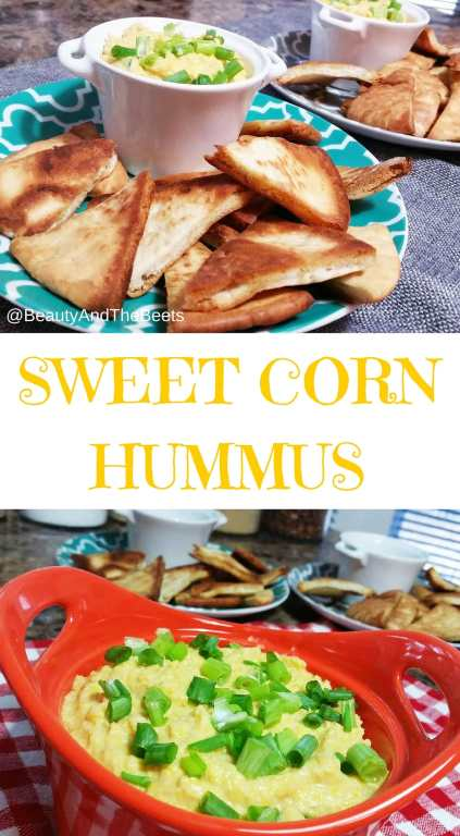 Sweet Corn Hummus pinterest Beauty and the Beets