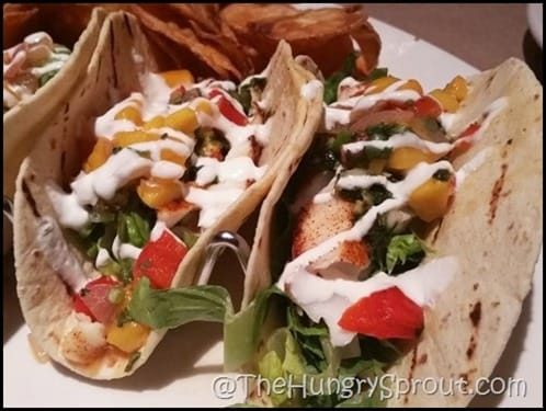 Bonefish Blackened Mahi tacos
