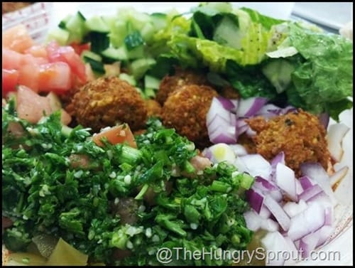 Falafel Bowl Hubbly Bubbly Beauty and the Beets