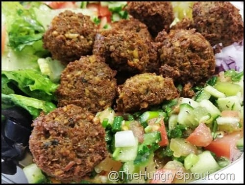 Hubbly Bubbly Falafel Beauty and the Beets