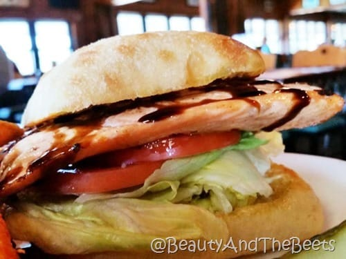 Salmon sandwich The Butler saugatuck