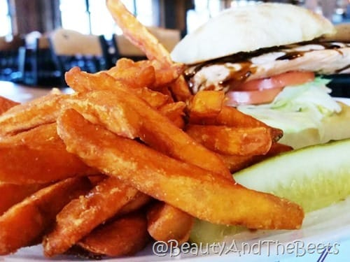 Sweet Potato Fries The butler