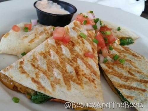 Veggie Quesadilla The Hammered Lamb Beauty and the Beets