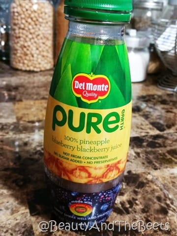 Del Monte Pure Earth Fruit Juice Beauty and the Beets