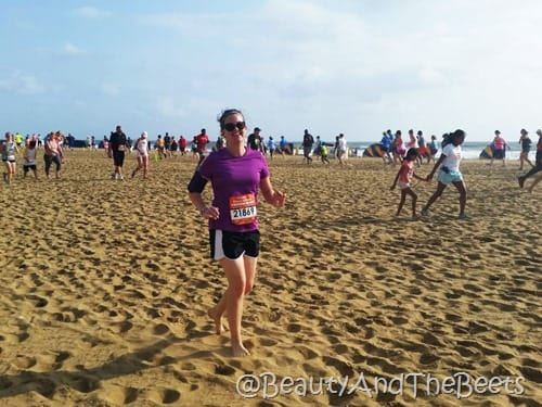 Rock N Roll VA Beach Mile on the Sand Beauty and the Beets