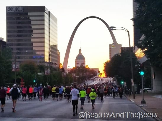 Rock n Roll Half Marathon St Louis Beauty and the Beets