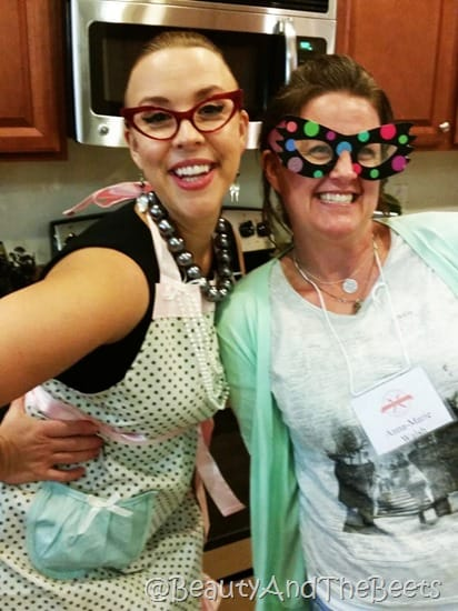 Emily Ellyn Retro Rad Chef World Food Championships Beauty and the Beets