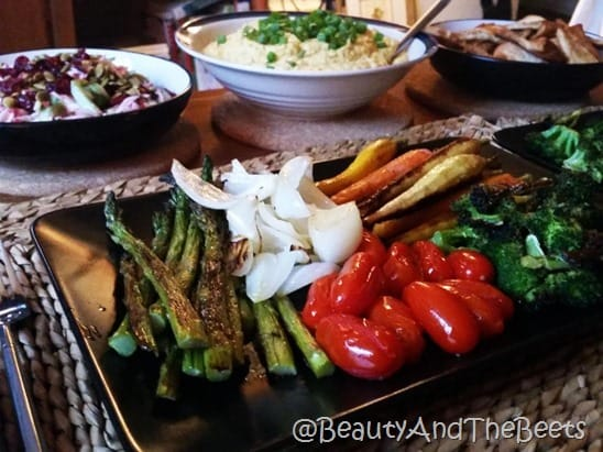 Roasted Vegetable Yogi Bowl Beauty and the Beets