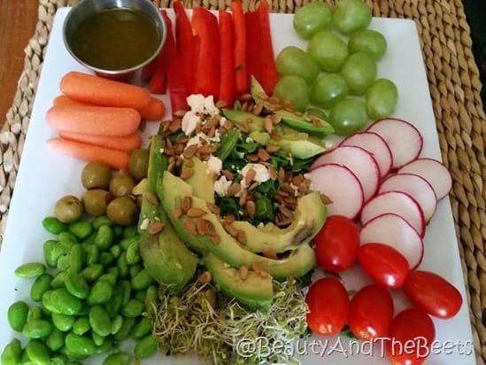Vegetable Yogi Bowl BeautyandtheBeets