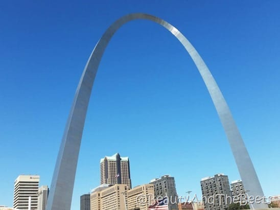 Gateway Arch St Louis Beauty and the Beets MO