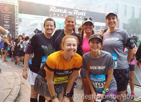 RocknBlog team 2015 Savannah Marathon Beauty and the Beets