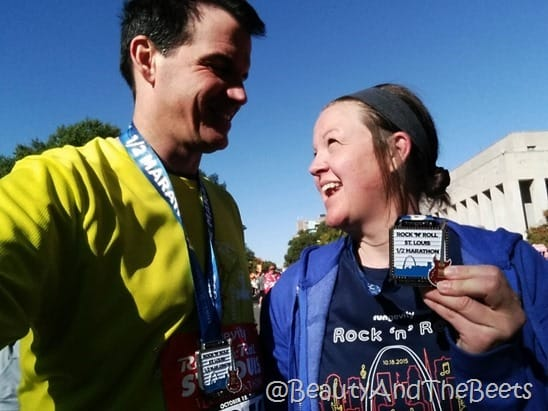 RocknRoll St Louis Marathon Beauty and the Beets