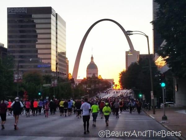 Longevity RocknRoll St Louis Half Marathon Beauty and the Beets