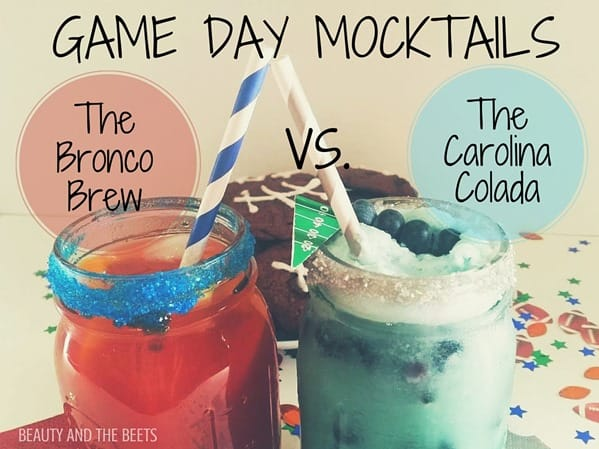 Game Day Mocktails Beauty and the Beets #SundaySupper