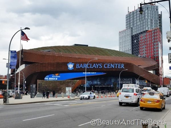 Barclays Center Brooklyn Beauty and the Beets