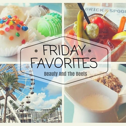 Friday Favorites Beauty and the Beets 3-4