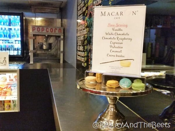 Macarons The Paris Theatre NYC Beauty and the Beets