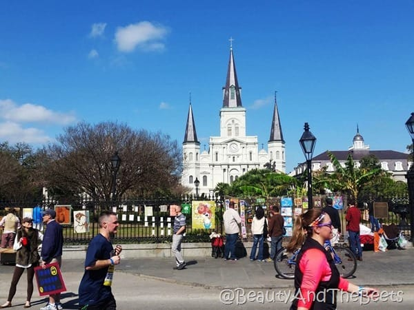 RNR NOLA Jackson Square Beauty and the Beets