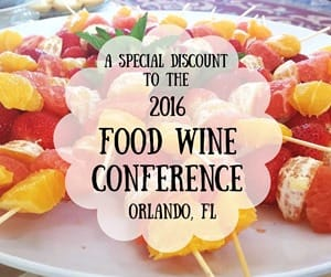 Discount to the Food Wine Conference (1)