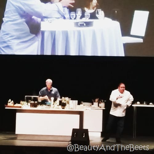 John Rivers and Emeril Lagasse Dr Phillips Center for the Performing Arts Beauty and the Beets