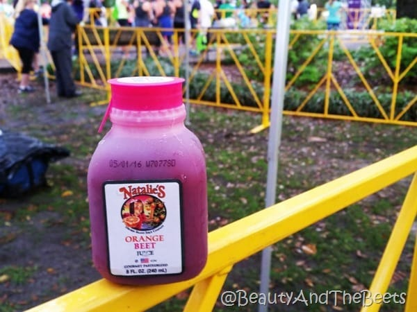 Natalie's Beet Juice Publix Savannah Womens Half Marathon Beauty and the Beets