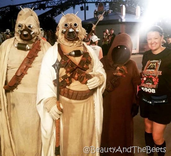 Star Wars Half Marathon Beauty and the Beets