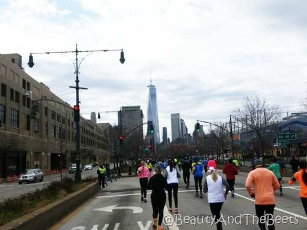 Westside Highway United Airlines NYC Half Marathon Beauty and the Beets