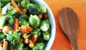 Tarragon Marinated Brussels Sprouts