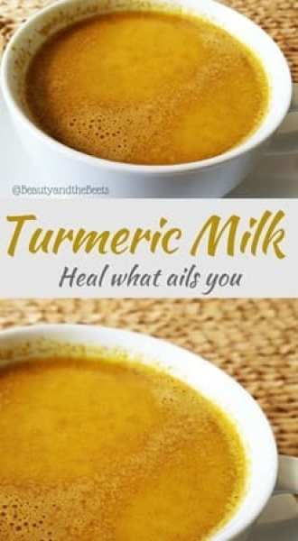 Turmeric Milk Beauty and the Beets heal what ails you (1)