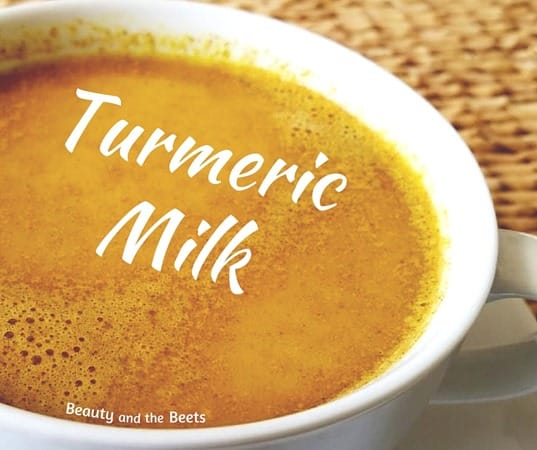 Turmeric Milk recipe Beauty and the Beets