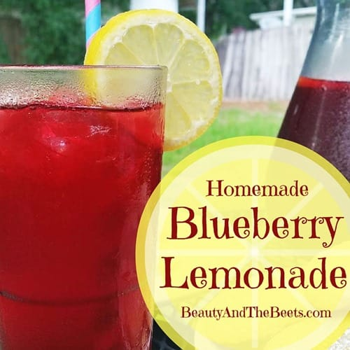 Blueberry Lemonade Beauty and the Beets social