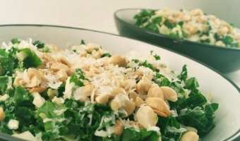 Houston's Kale Salad with Peanut Dressing