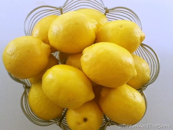 Lemon Bowl Blueberry Lemonade Beauty and the Beets