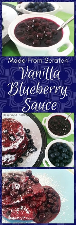 Made from Scratch Vanilla Blueberry Homemade by Beauty and the Beets