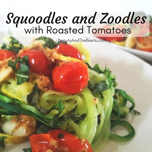 Squoodles and Zoodles Beauty and the Beets