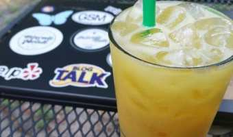 Starbucks Orange Drink Copycat Recipe #OrangeDrink