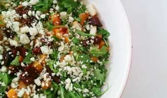 Summer Salad with Apricot Vinaigrette